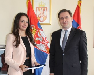 Nela Kuburović assumed the duty of the Minister of Justice of the Republic of Serbia