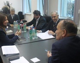 Minister Kuburovic visitiing the judical institutions in Nis
